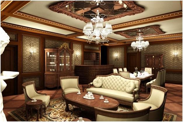 Bảng báo giá 10 mẫu nội thất phòng khách biệt thự đẹp sang trọng 3