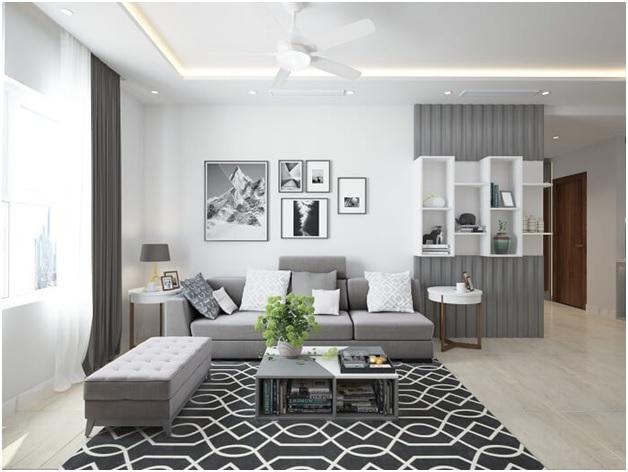 Chuyên tư vấn thiết kế nội thất căn hộ chung cư 60m2 đẹp rẻ tại TPHCM