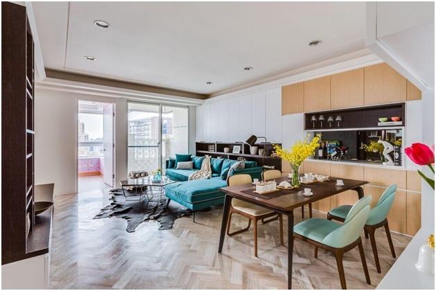 Chuyên tư vấn thiết kế nội thất căn hộ chung cư 60m2 đẹp rẻ tại TPHCM 2
