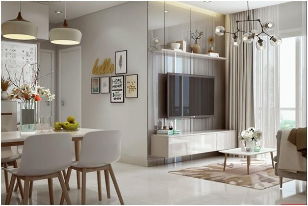 Chuyên tư vấn thiết kế nội thất căn hộ chung cư 60m2 đẹp rẻ tại TPHCM 4