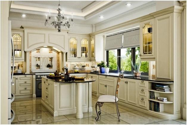 Chuyên thiết kế và cung cấp nội thất nhà bếp đơn giản hiện đại TPHCM