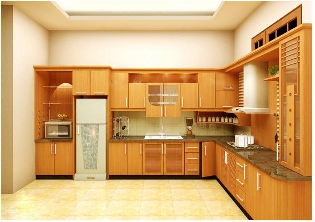 Chuyên thiết kế và cung cấp nội thất nhà bếp bằng gỗ tại TPHCM