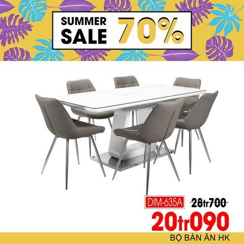 Khuyến mãi hàng nội thất, bàn ăn, ghế sofa giảm giá tới 70%