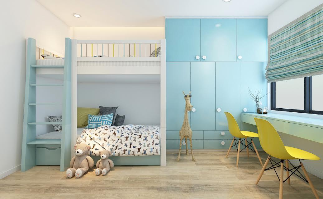 Báo giá hoàn thiện nội thất căn hộ chung cư 70m2 đẹp 2, 3 phòng ngủ 19