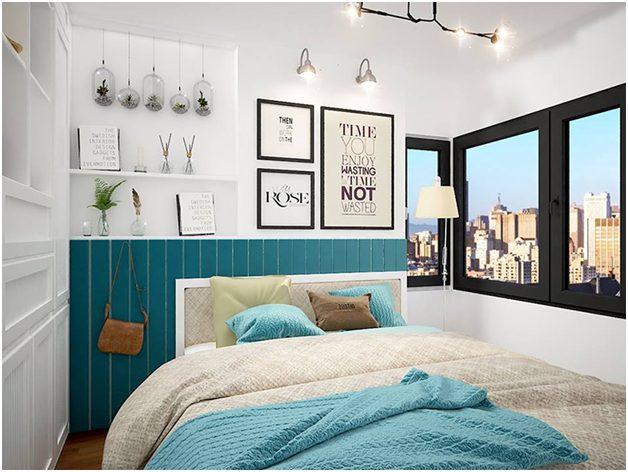 Nội thất phòng ngủ đơn giản hiện đại 1