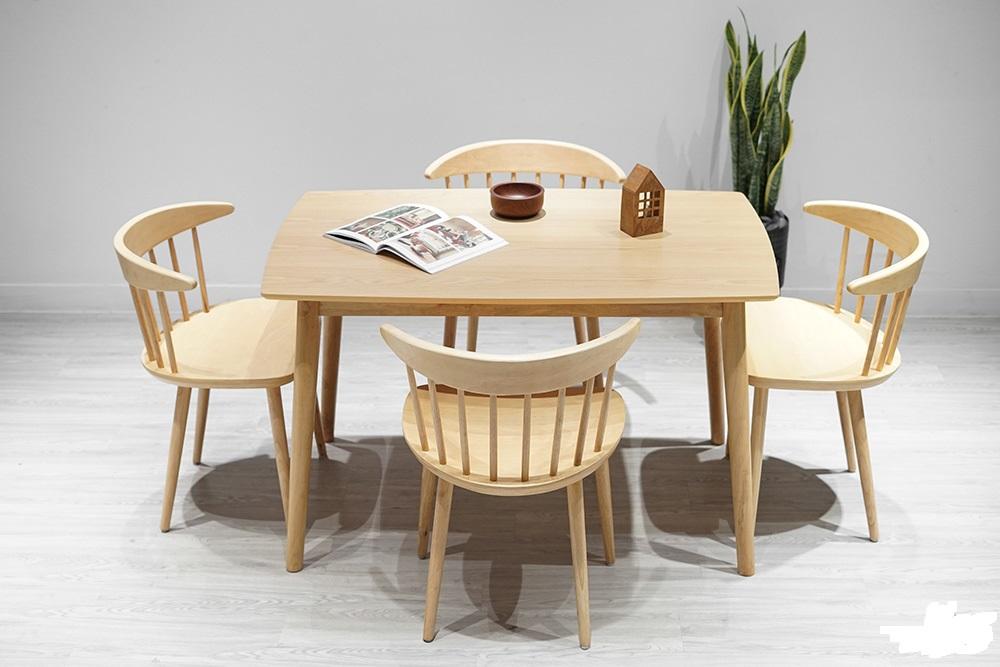 10+ mẫu nội thất nhà bếp bàn ghế gỗ