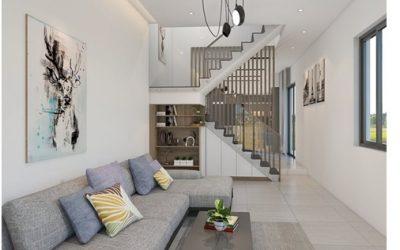 Bảng báo giá 10 mẫu nội thất phòng khách cho nhà ống 4m tại TPHCM