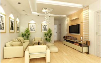 Bảng báo giá 10 mẫu thiết kế phòng khách đơn giản mà đẹp tại TPHCM